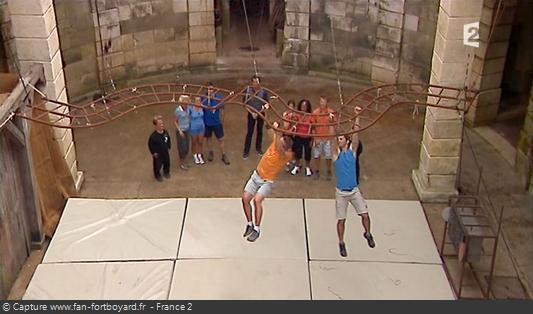 Fort Boyard 2010 : Le nouveau duel de la Double échelle