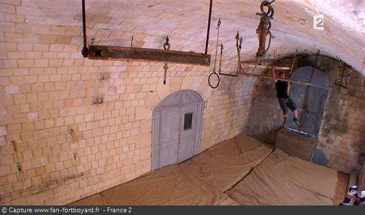 Fort Boyard 2010 : Le retour à l'identique de l'épreuve de la Salle des tortures