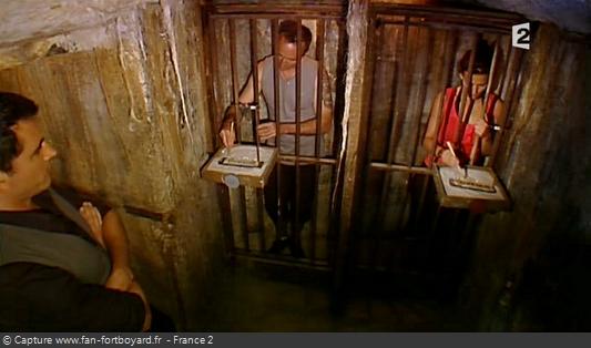 Fort Boyard 2010 : Le duel des Baguettes permet de libérer un prisonnier