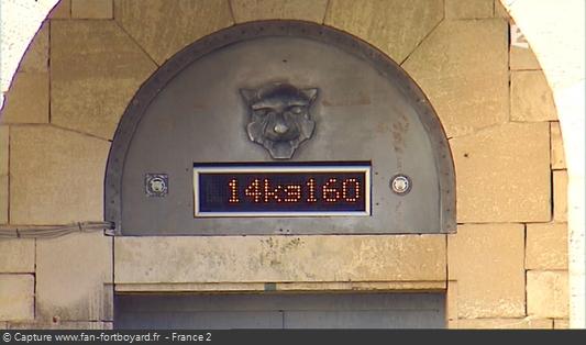 Fort Boyard 2010 : Le compteur de Boyards en kilogrammes