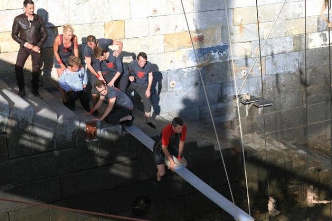 Fort Boyard 2011 - Equipe 4 (23/07/2011)