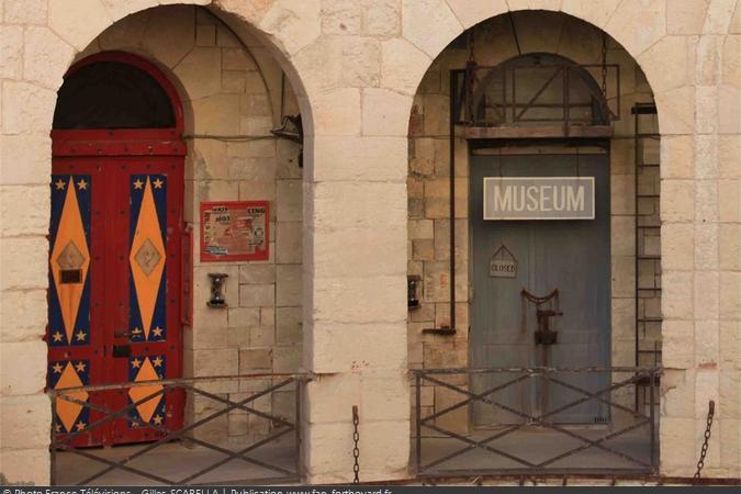 Fort Boyard 2011 - Les portes du Ring et du Museum