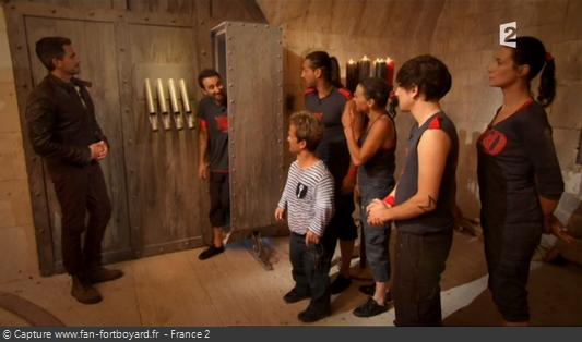 Fort Boyard 2011 : L'Antichambre du Jugement ou l'équipe récupère les clés manquantes