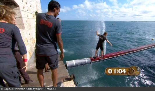 Fort Boyard 2011 : La nouvelle aventure de la Poutre-jets d'eau