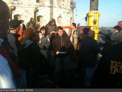 Fort Boyard 2011 - Les tournages