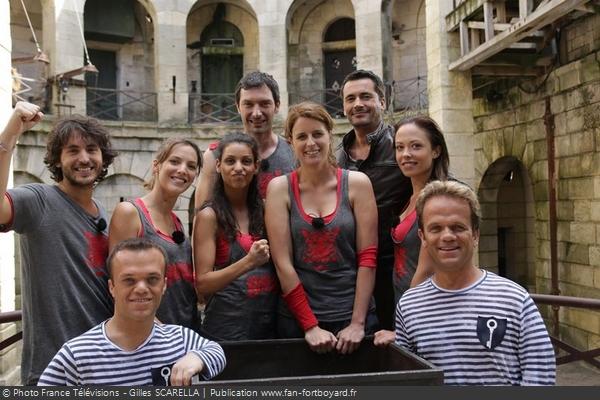 Fort Boyard 2012 - Équipe 6 - Plus Belle la Vie (18/08/2012)