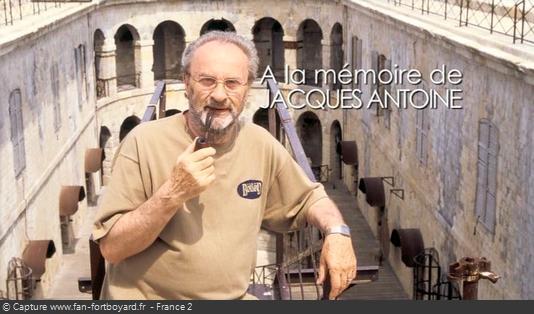 Fort Boyard 2012 - Hommage à Jacques Antoine après l'émission du 31 octobre 2012