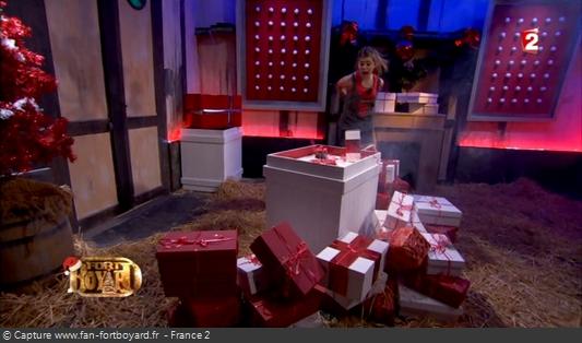 Fort Boyard 2012 : La nouvelle épreuve des Cadeaux empoisonnées pour la spéciale Noël