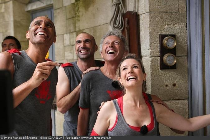 Fort Boyard 2012 - Equipe 3 (21/07/2012)