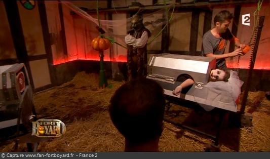 Fort Boyard 2012 : Le retour de l'épreuve de la Femme coupée pour la spéciale Halloween