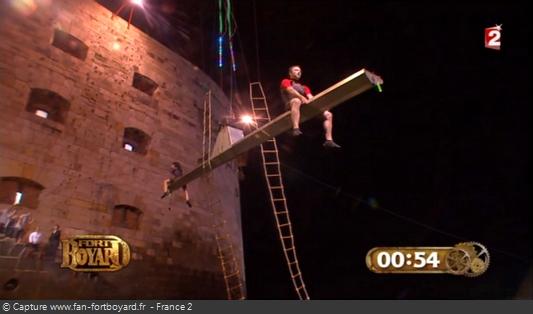 Fort Boyard 2012 : La nouvelle aventure de la Balance en nocturne (spéciale Nouvel An)