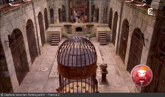 Fort Boyard 2012 : La Salle du trésor et ses nouveaux escaliers