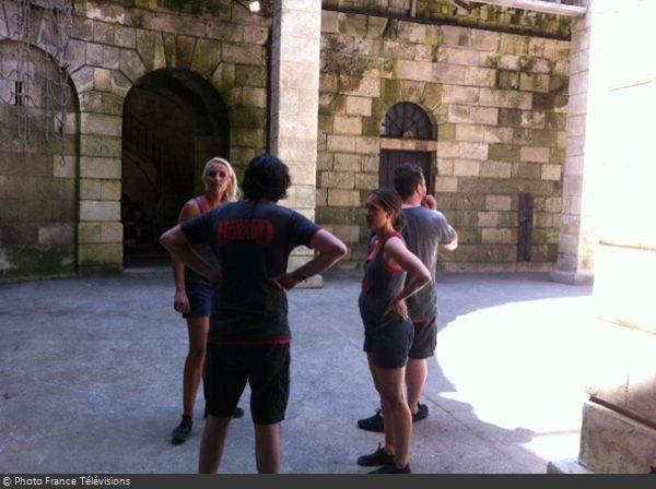 Fort Boyard 2012 - Tournage émission 8