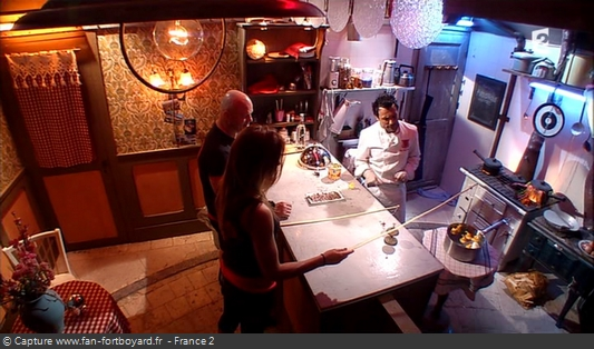 """Fort Boyard 2013 : La nouvelle épreuve """"Chez Willy Rovelli"""" avec le Chef Willy et son jeu d'introduction"""