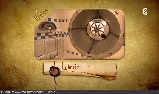 Fort Boyard 2013 : Les explications des épreuves se font par Olivier Minne avec des vues de la cellule