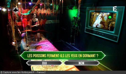 Fort Boyard 2013 : La nouvelle épreuve du Plateau 215 avec les questions animalières du Père Fouras