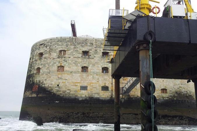 Fort Boyard 2013 : Vue extérieure du fort (30/05/2013)