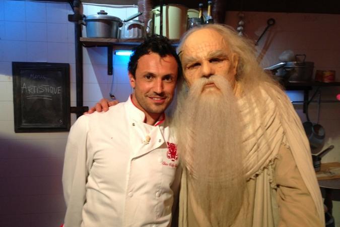 Fort Boyard 2013 : Le Père Fouras et Willy dans sa nouvelle cuisine (04/06/2013)