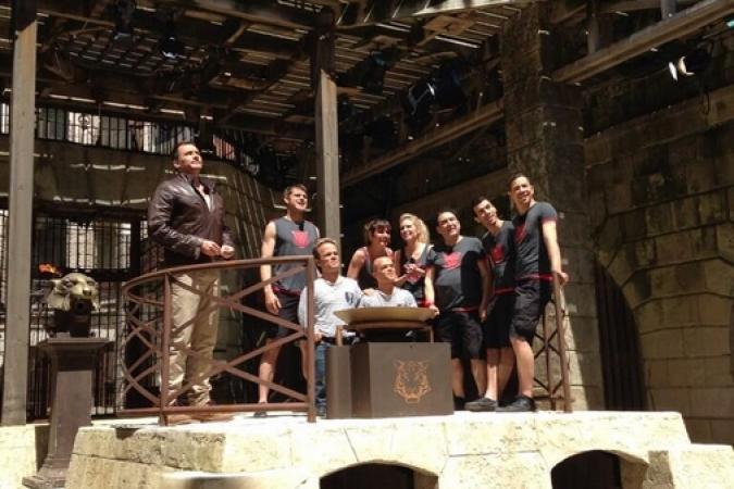 Fort Boyard 2013 : L'équipe de Dani Lary (05/06/2013)