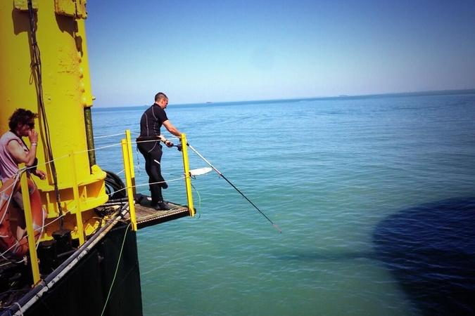 Fort Boyard 2013 : A midi sur Fort Boyard c'est poisson ... Enfin si ça mord (05/06/2013)