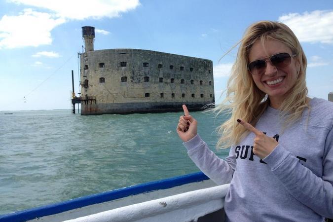 Fort Boyard 2013 : Dorothée Kristy (04/06/2013)