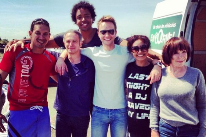 Fort Boyard 2013 : L'équipe 9 arrive (06/06/2013)