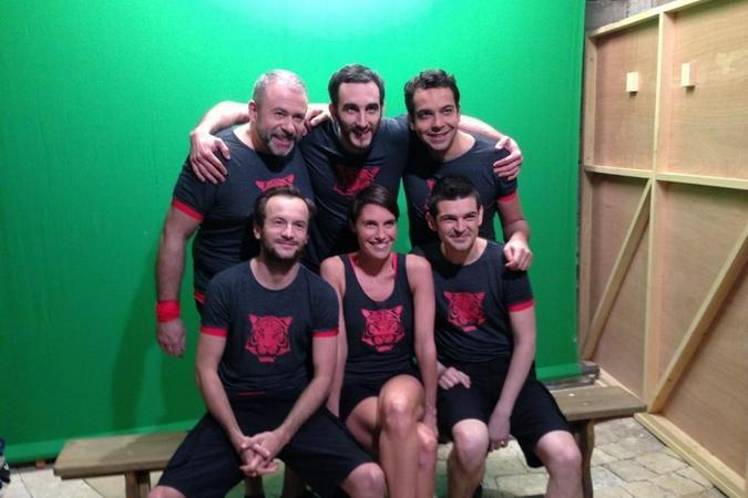 Fort Boyard 2013 : L'équipe de C à vous (09/06/2013)