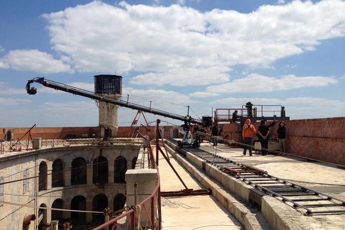 Fort Boyard 2013 : La terrasse en pleine prépa... (03/06/2013)
