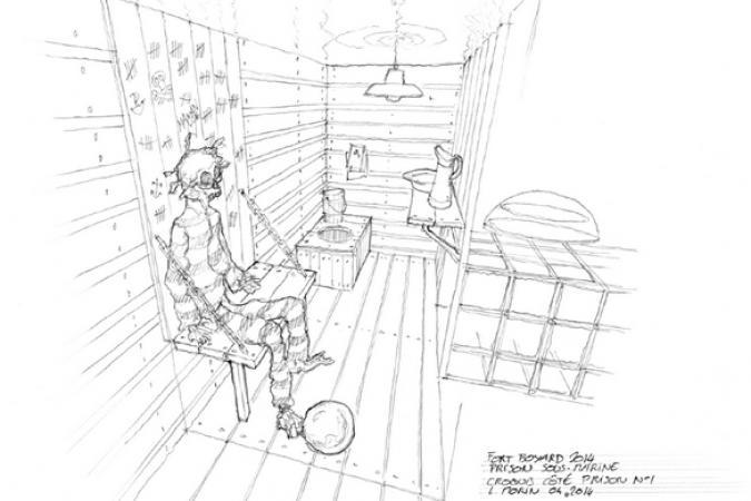 Fort Boyard 2014 - Dessin de la Prison immergée