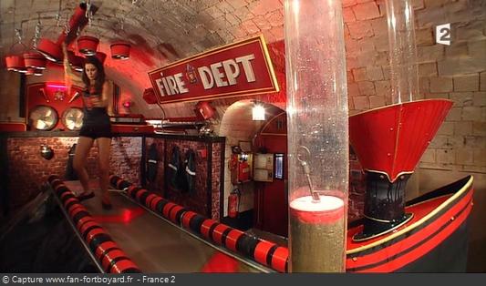 Fort Boyard 2014 : L'épreuve de la Caserne (nouveau décor de l'ancien Tapis roulant)