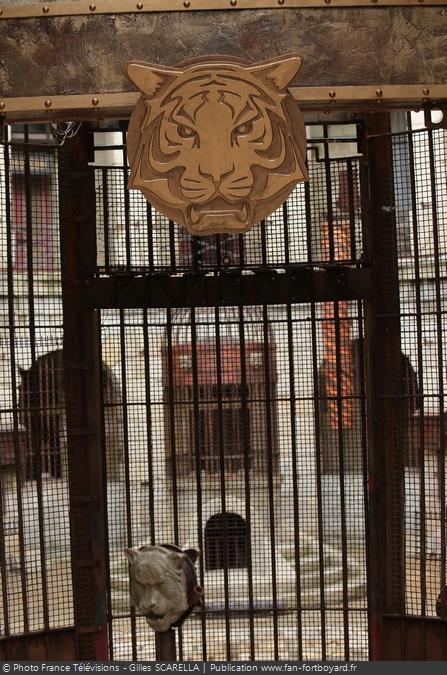 Fort Boyard 2014 - Nouvelle porte de la Salle du Trésor