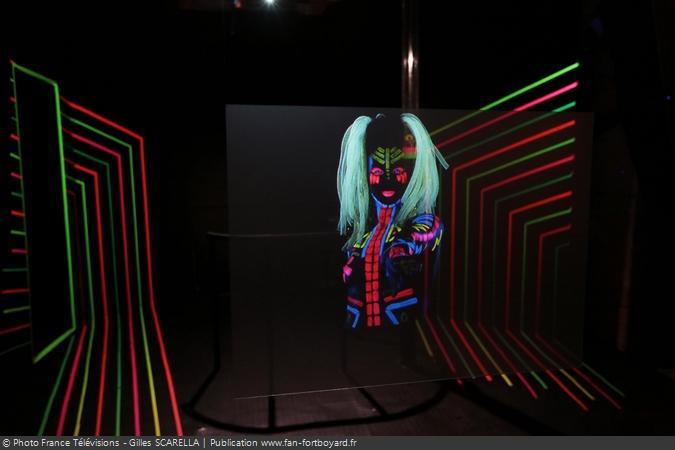 Fort Boyard 2014 - L'épreuve de la Salle des illusions avec Luciole