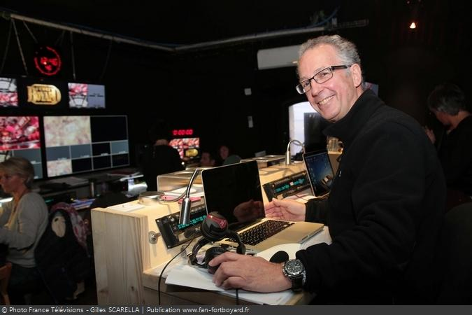 Fort Boyard 2014 - Pierre GODDE, le producteur exécutif