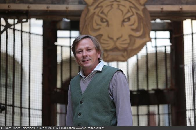 Fort Boyard 2014 - Eric BURON, le directeur de production