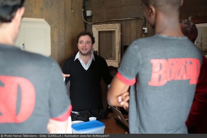 Fort Boyard 2014 - Benjamin GRAMAGE, chargé du briefing des candidats