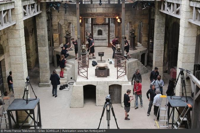 Fort Boyard 2014 - Les coulisses du tournage