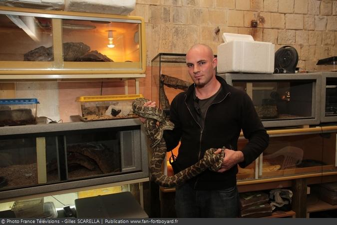 Fort Boyard 2014 - Denis LEBON, l'animalier