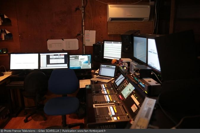 Fort Boyard 2014 - Les coulisses du fort (régie sons)