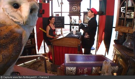 Fort Boyard 2014 : La nouvelle épreuve de la Magic Academy avec le magicien québécois Vincent C.