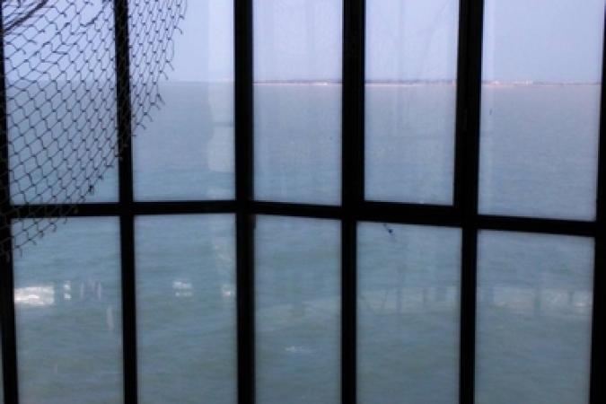 Fort Boyard 2014 : Vue depuis la vigie du Fort Boyard (30/03/2014 - ROT)