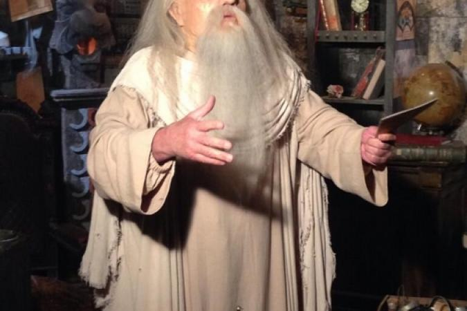 Fort Boyard 2014 : Le Père Fouras dans son antre (30/05/2014 - B. Patino)