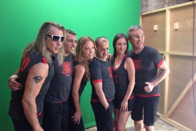 Fort Boyard 2014 : L'équipe 9 (02/06/2014 - D. Coesens)