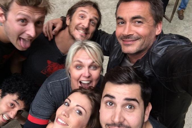 Fort Boyard 2014 : Manu LEVY (09/08/2014)