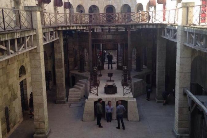 Fort Boyard 2014 : La cour intérieure (03/06/2014 - B. Asloum)