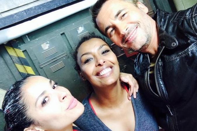 Fort Boyard 2014 : Gyselle SOARES, Samira IBRAHIM et Olivier MINNE (23/08/2014)