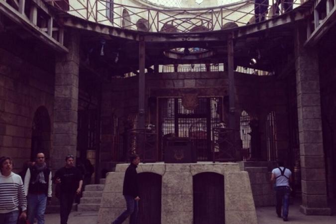 Fort Boyard 2014 : Photo de la cour (26/05/2014 - D. Wespiser)