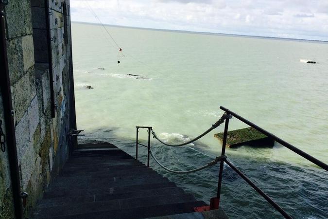 Fort Boyard 2014 : Début des tournages du 2e jour (27/05/2014 - O. Minne)