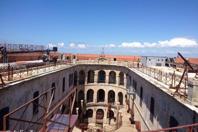 Fort Boyard 2014 : Le fort sous le soleil (27/05/2014 - C. Steinlen)