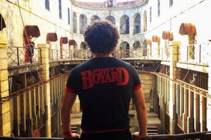 Fort Boyard 2014 : Willy ROVELLI et l'équipe 8 (16/08/2014)