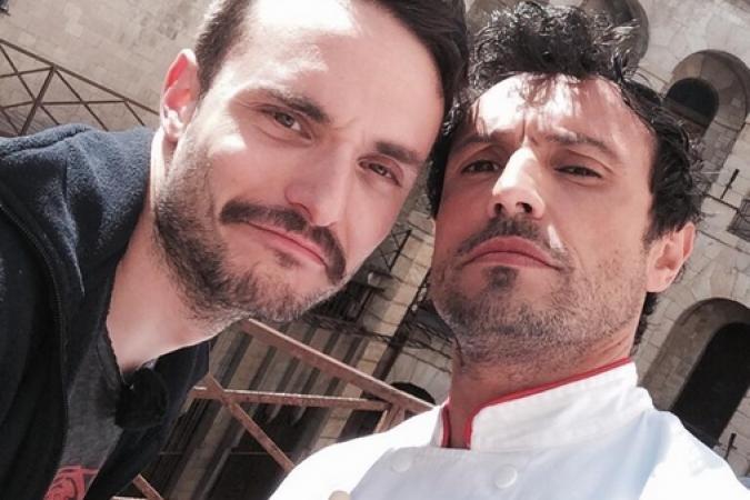 Fort Boyard 2014 : Willy ROVELLI et Jérôme NIEL (28/05/2014 - W. Rovelli)